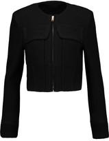 Roland Mouret Bennet wool-piqué jacket