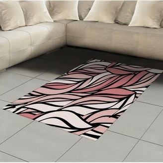 Rug Coral Print Shop The World S Largest Collection Of Fashion Shopstyle