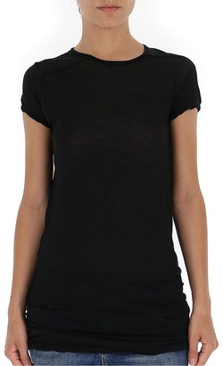 Rick Owens Semi-Sheer Long T-Shirt