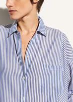 Vince Classic Stripe Cotton Tunic