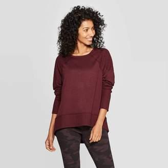 Knox Rose™ Women's Raglan Long Sleeve Scoop Neck Sweatshirt - Knox RoseTM