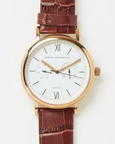 French Connection Gents Croc Watch