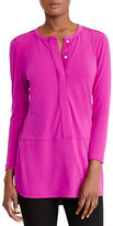Lauren Ralph Lauren Jersey Long-Sleeve Tunic
