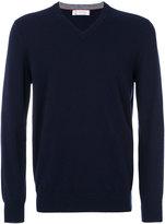 Brunello Cucinelli V neck sweatshirt - men - Cashmere - 50