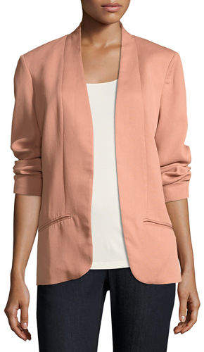 Eileen Fisher Corded Tencel® Simple Blazer, Plus Size