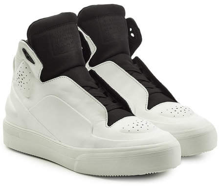 Maison Margiela New Future High Top Leather Sneakers
