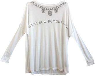 Francesco Scognamiglio White Top for Women