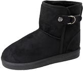 Black Buckle Boot