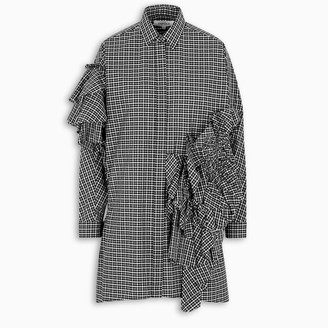 Enfold Flared checked shirt
