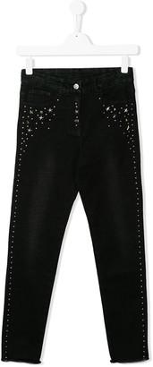 MonnaLisa TEEN star studded jeans