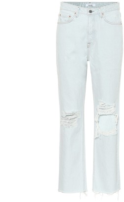 GRLFRND Mica high-rise straight jeans