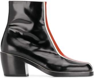 Nodaleto colour block ankle boots