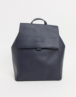 Claudia Canova Unlined Flapover Backpack