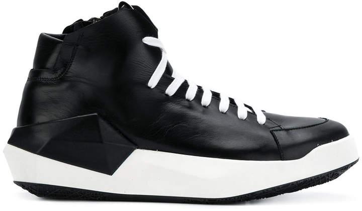 Cinzia Araia geometric sole hi-top sneakers