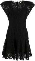 Dolce & Gabbana Lace Fitted Mini Dress