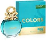 Benetton Colors Eau De Toilette Spray for Women, Blue, 2.7 Ounce