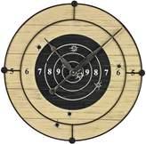 Sterling Target Practice Wall Clock