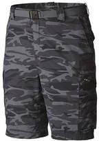 Columbia Men's Silver Ridge Printed Cargo Shorts