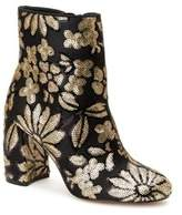 Nanette By Nanette Lepore Lilly Embroidered Textile Booties