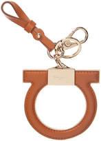Salvatore Ferragamo Gnacio Leather Keychain