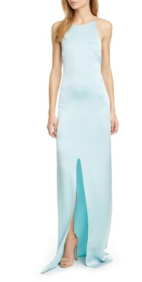 Alice + Olivia Missie Front Vent Maxi Dress