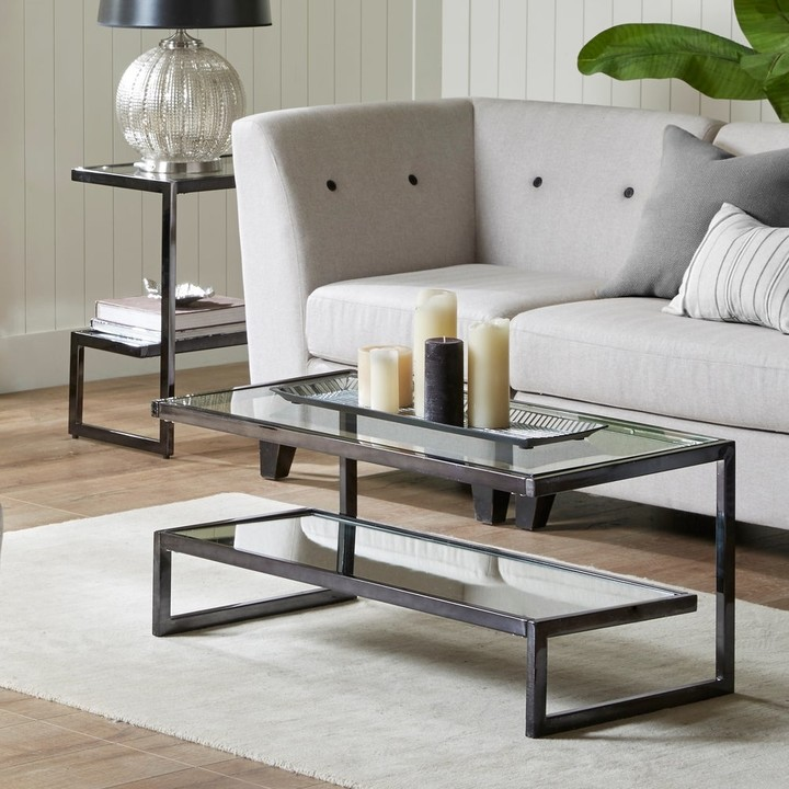 Thumbnail for your product : Madison Park Signature Boyd Black Coffee Table