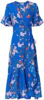 Tanya Taylor Blaire Falling Floral Dress
