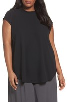 Eileen Fisher Plus Size Women's Silk Tunic