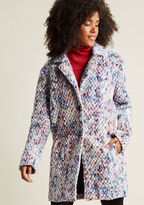 Steve Madden Confetti Chic Coat in L - Walker by from ModCloth