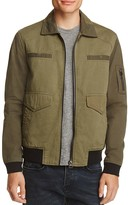 Blank NYC BLANKNYC Tonal Color Block Zip Jacket