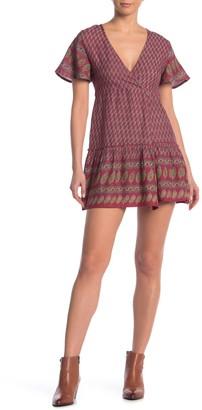 Raga Avah Faux Wrap Mini Dress