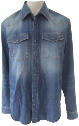 Maison Margiela Blue Denim - Jeans Shirts