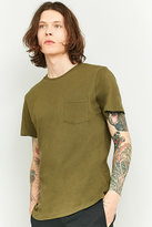 Urban Outfitters Khaki Basic One Pocket T-shirt