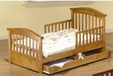 Nickelodeon Sorelle Joel Pine Toddler Bed with Storage