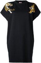 Giamba tiger print shortsleeved sweatshirt - women - Cotton/Polyester - 44