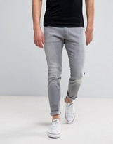 Wrangler Bryson Skinny Jeans X - Gray Wash