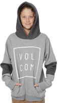 Volcom Boys Flagg Pullover Grey