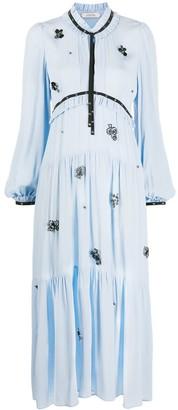 Dorothee Schumacher Floral Applique Shift Dress