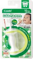 Combi Teteo Toothbrushing Myself Baby Tooth Brush Step 2 Set by