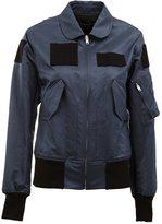 Yang Li patch detail bomber jacket
