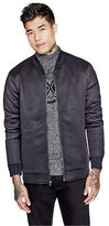 GUESS Men's Logan Quilted Bomber Jacket