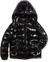 Moncler New Maya Puffer Coat, Size 4-6