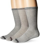 Timberland Men's 3 Pack Heavy Weight Merino Wool Crew Sock