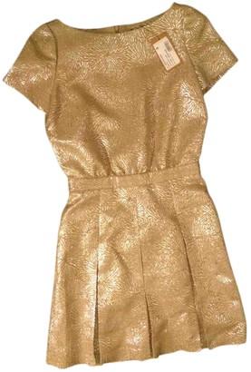 A.P.C. Gold Wool Dresses