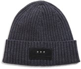 John Varvatos 2x2 Ribbed Hat with Cuff