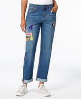 Earl Jeans Patch Boyfriend Jeans, A Macy's Exclusive Style