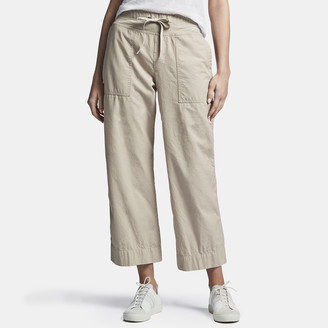 James Perse Vintage Pull On Cropped Pant