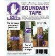 Off Limits Purple Boundary Tape No Trespassing No Hunting