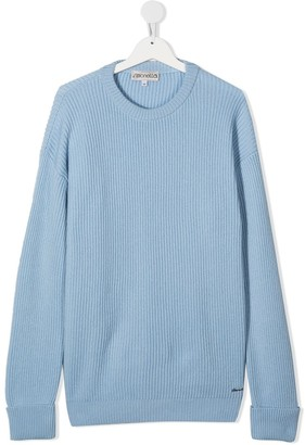 Simonetta Long Sleeve Cashmere Jumper