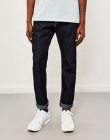 Edwin ED-55, Relaxed Tapered, Deep Blue Jeans, Unwashed